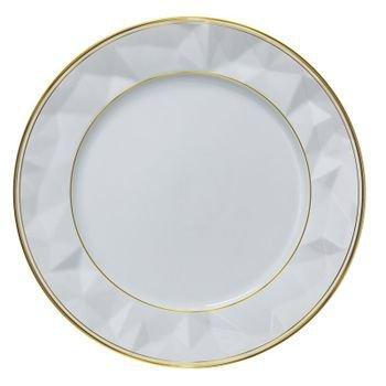 jogo de 6 pratos de sobremesa de porcelana edros filete ouro 20878393 1 20190507174917