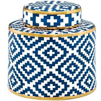 potiche em ceramica azul e branco 19 5cmx20cm 20877139 1 20181210150821
