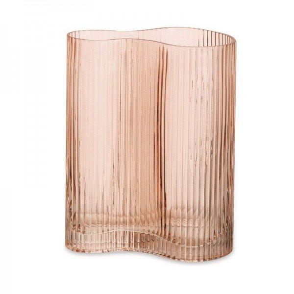 vaso canelado vidro rosa g 20877963 1 20190321160507