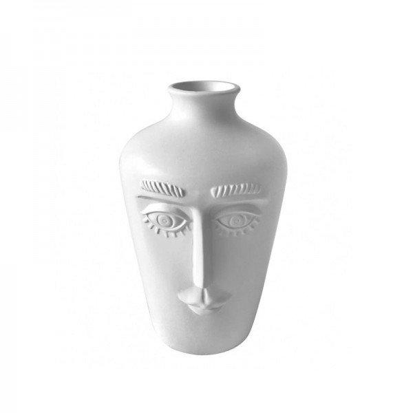 vaso de ceramica branco rosto mod01 20878555 1 20190521175253