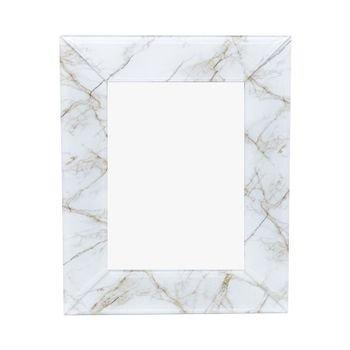 porta retrato de vidro marmore marrom e branco 10x15cm 20878481 1 20190520144804