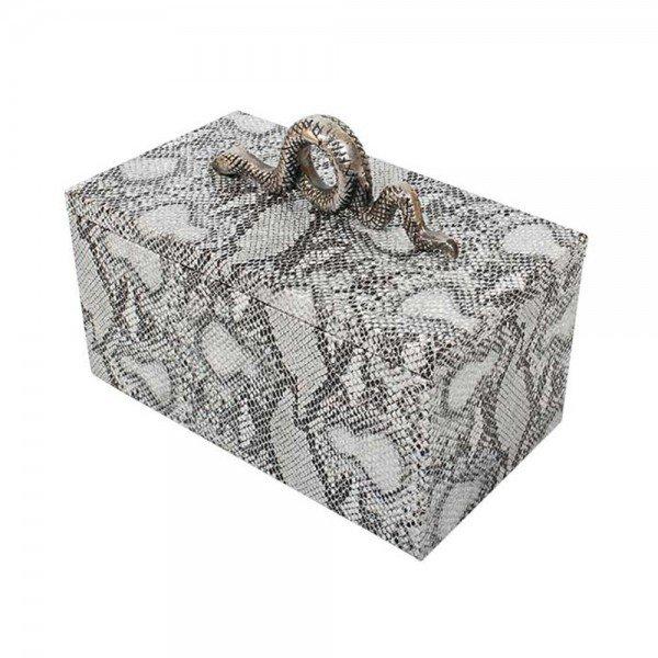 caixa decorativa couro sintetico cobra 20878983 1 20190723165841