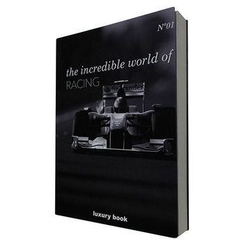 livro caixa decorativo incredible world of racing 20879169 1 20190830145833