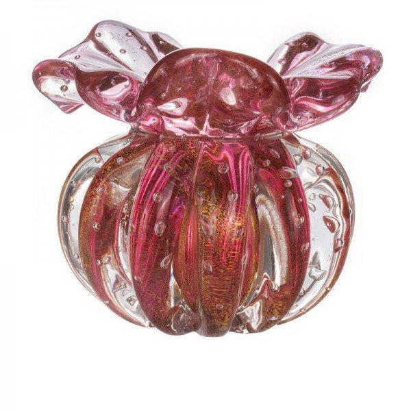 vaso cristal murano trouxinha ferrara pink c ouro 20878349 1 20190516134618