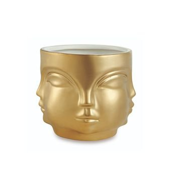 cachepot rosto em ceramica g dourado 20879309 1 20191003175909