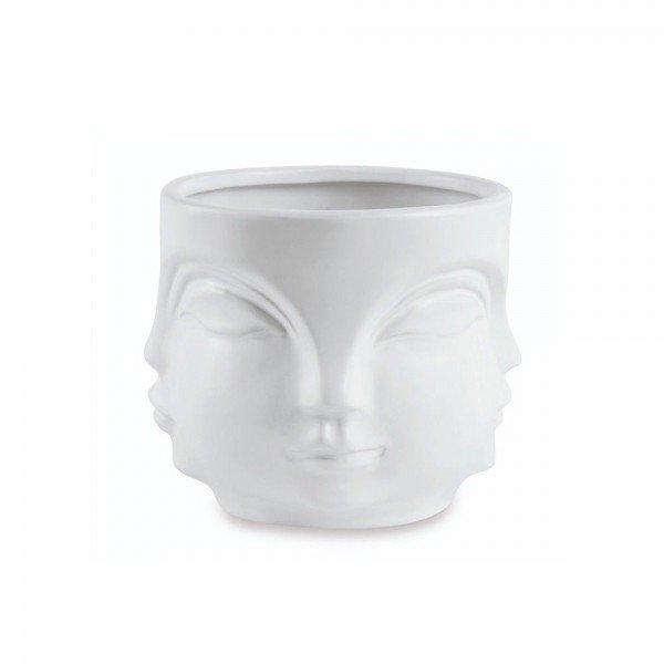 cachepot rosto em ceramica g branco 20879307 1 20191003180014