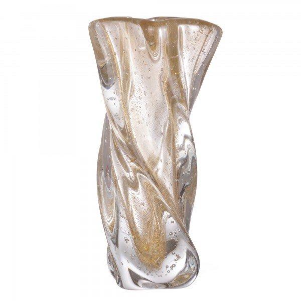 vaso murano aveiro cristal