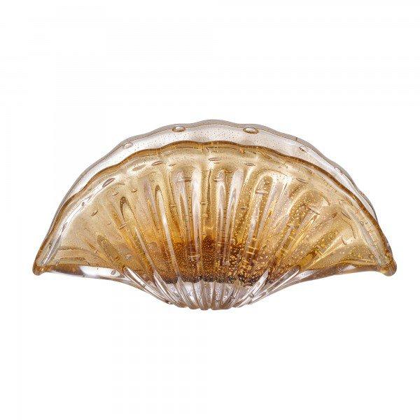 vaso murano istambul ouro garnet
