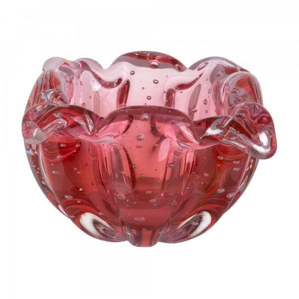 vaso murano gouda cereja