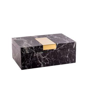 caixa_decorativa_marmore_preto_dourado
