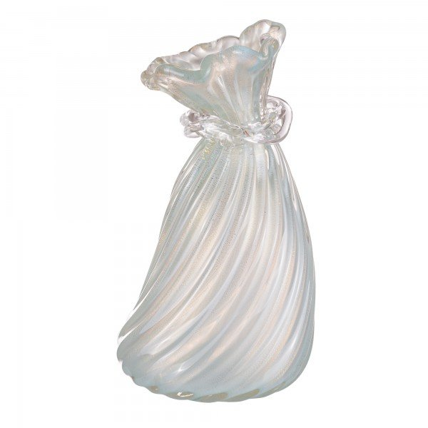 vaso di murano difusor azul tiffany