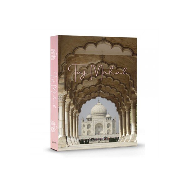 livro decorativo taj mahal