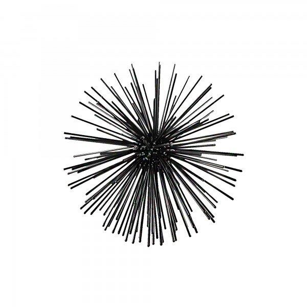 esfera decorativa sputnik preto