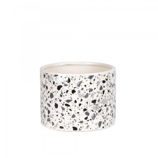vaso_ceramica_efeito marmore_ pequeno