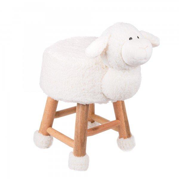 banco de pelucia ovelha