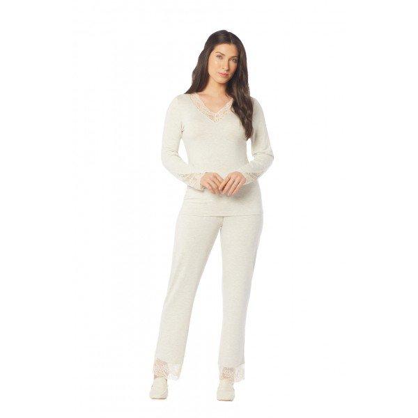 2020 trussardi pijamas conjunto longo eugenia lookbook easy resize com