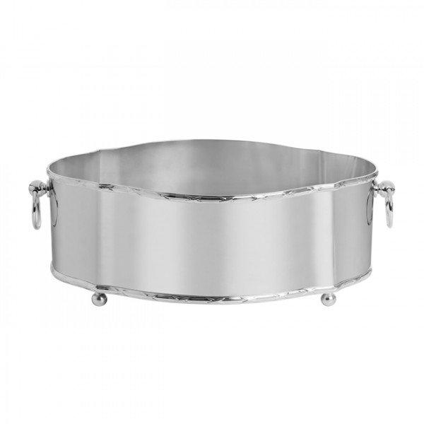centro de mesa classic medio prata