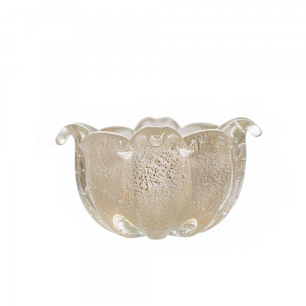 vaso murando gouda quartzo perola com ouro sottile casa